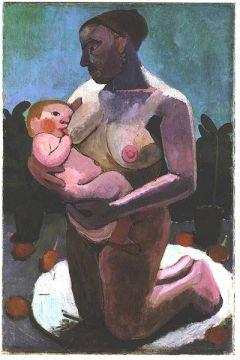 Madre-amamantando-niño-amor-Modersohn-Becker
