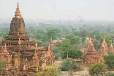 Ancient city of bagan in burma