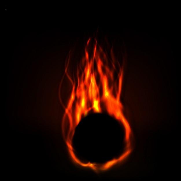 meteorito-en-llamas_1053-307