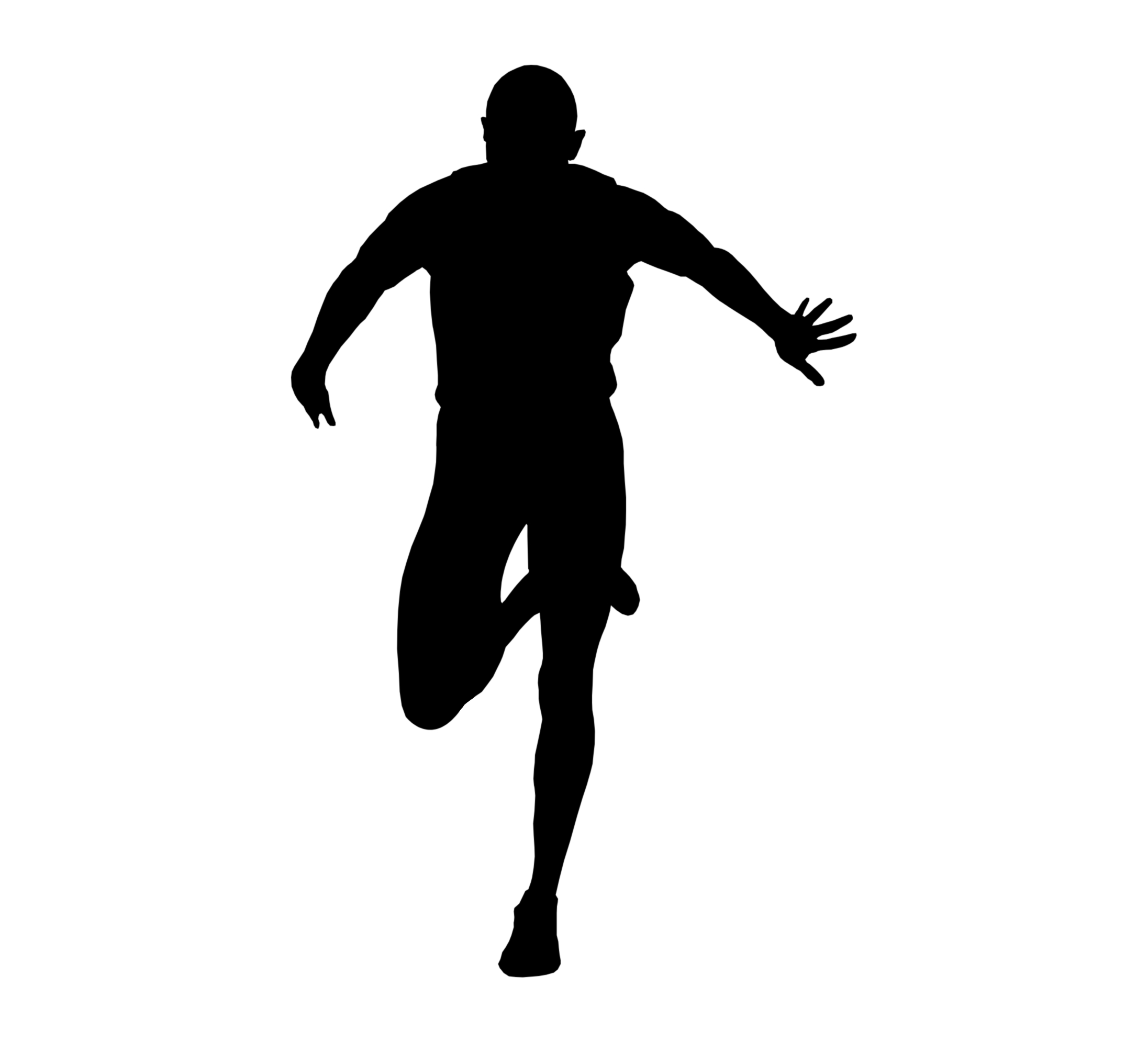 silhouette-of-runner-1157428